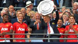 United's previous Charity Shield outing